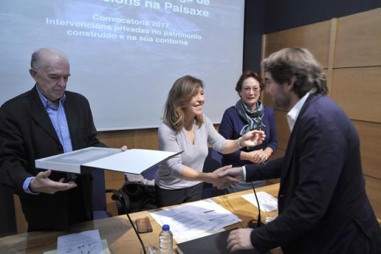 Entrégase o Premio da Fundación Juana de Vega, o primeiro galardón galego en recoñecer os valores paisaxísticos