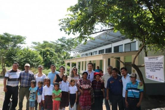 Jesús Gamallo na visita aos proxectos de Arquitectura Sen Fronteiras