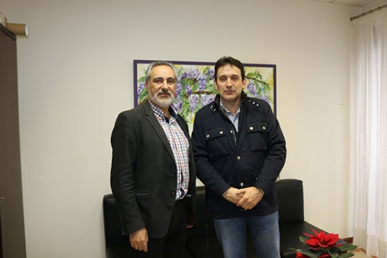 Cores Tourís na reunión co alcalde de Crecente
