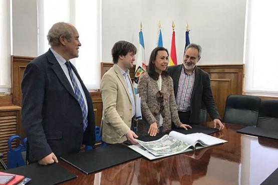 Encontro de traballo coa alcaldesa de Marín