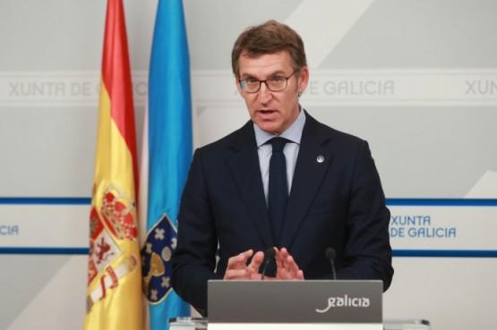 Rolda de prensa do presidente da Xunta