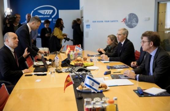 O presidente da Xunta abre vías de colaboración co sector da automoción en Israel