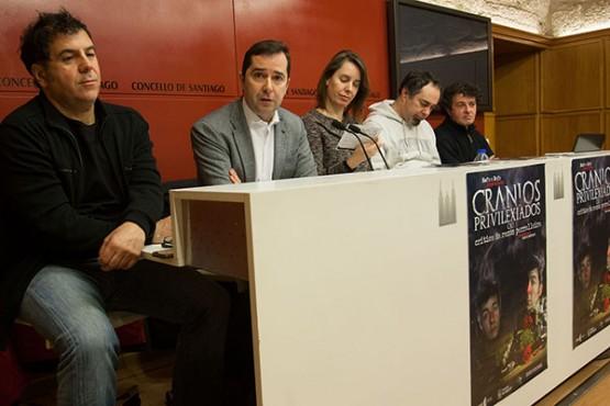O dúo Mofa e Befa ofrece catro funcións en Santiago de 'Cranios privilexiados'