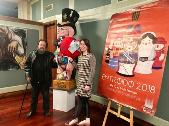 Santiago celebrará o Entroido cun amplo programa de actividades do 10 ao 14 de febreiro