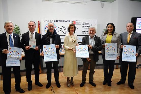 A décimo novena edición de Xantar converterá Ourense no escaparate do potencial galego para o turismo enogastronómico