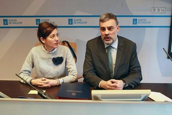 Alfonso Marnotes na presentación do plan xuvenil