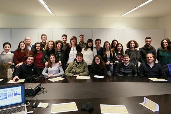 A Xunta dá a benvida a un grupo de xóvenes italianos que visitarán Santiago no marco do programa Xuventude no Mundo
