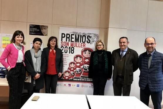 """Preséntase I edición dos premios """"Son Muller 2018"""""""
