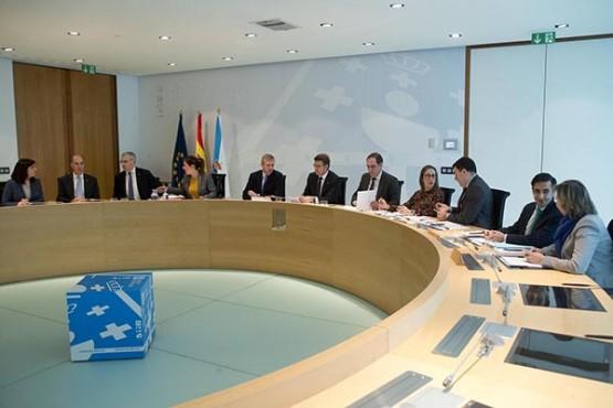 Reunión do Consello da Xunta. Foto: X. Crespo