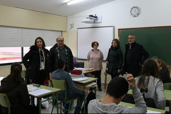 Visita de Cores Tourís ao CPI Santa Lucía de Moraña