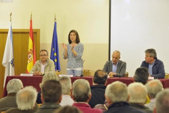 Ángeles Vázquez na presentación da fase