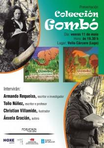 O Vello Cárcere acolle a presentación dos dous primeiro albumes ilustrados da colección infantil Gombó, de Ánxela Gracián
