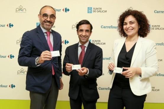 Xunta e Carrefour axudan ás familias galegas titulares da Tarxeta Benvida cun 5% de desconto na compra de produtos infantís
