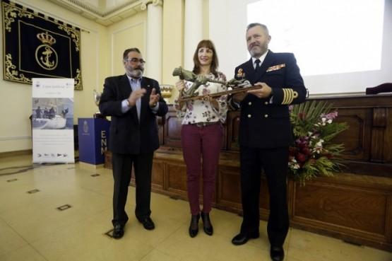 Marta Míguez na presentación da Copa Galicia de Cruceiros OCR 2018