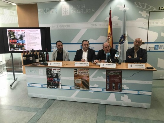 A mostra de viños da Ribeira Sacra de Pantón celebra a súa 25 edición