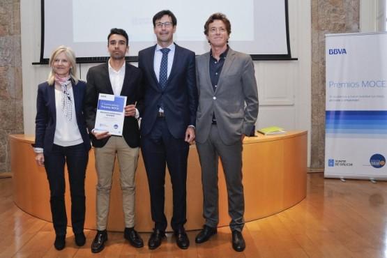 A Xunta pon en valor os Premios Moce polo fomento do espírito emprendedor