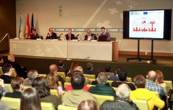 A Xunta comeza de inmediato os traballos para mellorar a eficiencia enerxética do complexo administrativo de San Caetano