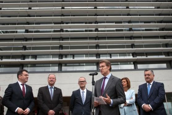 Inauguración do novo edificio do Campus da Auga de Ourense
