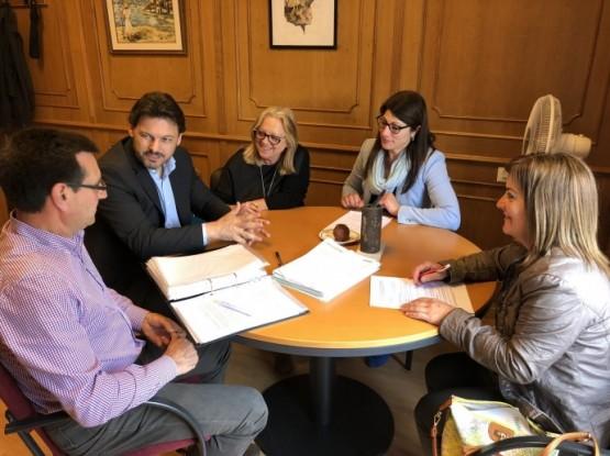 Antonio Rodríguez Miranda amosa o seu apoio á nova directiva do Centro Galego de Zug