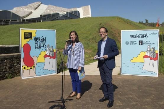 A Cidade da Cultura convida a gozar dun verán con 70 actividades de lecer, ao aire libre e vinculadas coa natureza