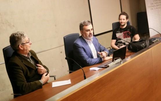 Alfonso Marnotes na xornada Hacker ético
