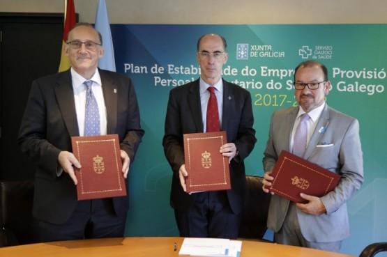 A Consellería de Sanidade e as universidades de Santiago e Vigo cooperarán para dar unha mellor asistencia sanitaria aos galegos