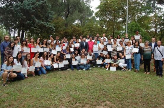 O secretario xeral da Emigración preside o acto de entrega de diplomas que pon fin á convocatoria de 2018 de Escolas Abertas