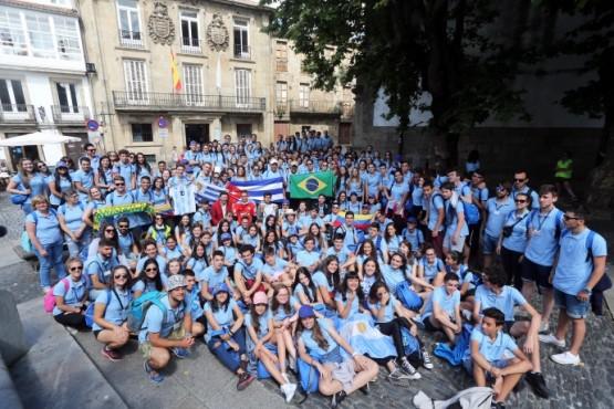 Miranda salienta o potencial dos galegos do exterior na divulgación do Camiño de Santiago