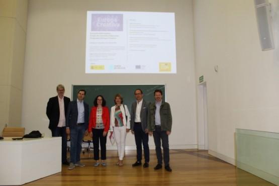 Cultura informa sobre o fondo de garantía financeira do programa Europa Creativa para o apoio de proxectos culturais