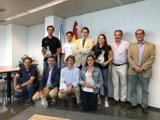 López-Chaves recibe á frota mundialista de Vaurien
