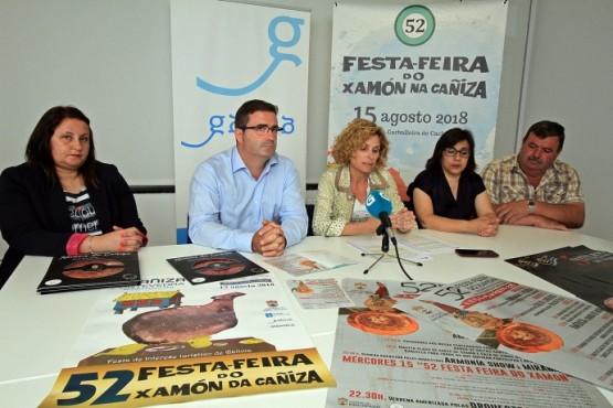 A Feira do Xamón da Cañiza chega á 52 edición como unha das festas turísticas referentes do sur de Galicia