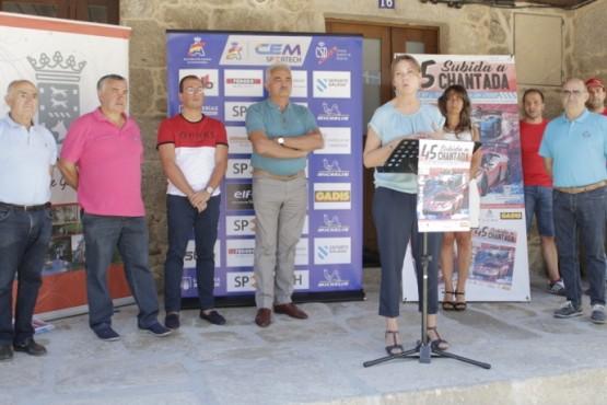 A Subida a Chantada volve ao Campionato de España
