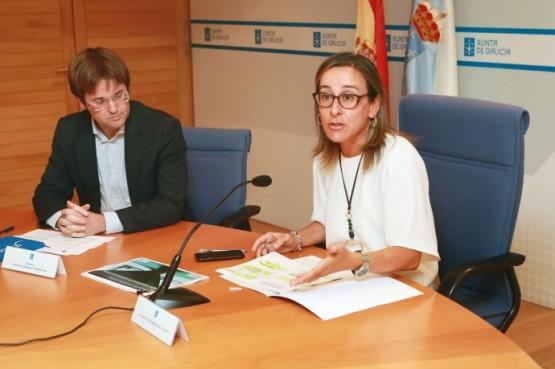 Ethel Vázquez salienta o investimento de 19 millóns de euros desde o ano 2009 en intervencións de mellora nas pontes das estradas