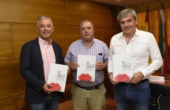Presentación da revista promocional da 32ª edición da Feira do Moble de Galicia