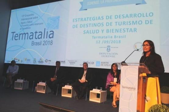 A Deputación de Ourense presenta en Brasil o seu Programa de Termalismo Social en Termatalia 2018