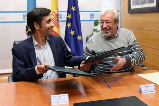 A Xunta incrementa nun 3% o seu apoio á Federación Galega de Bancos de Alimentos no novo convenio