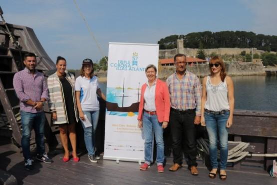 Rosa Quintana destaca a importancia do desenvolvemento de deportes marítimos para dinamizar as rías galegas