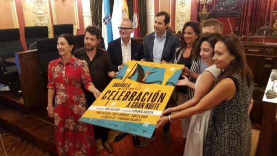 Sarabela Teatro estrea 'celebración. A gran noite' cunha axuda á produción escénica da Agadic