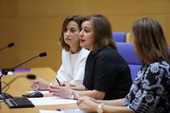 Susana López Abella na inauguración da xornada de formación