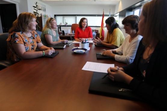 A secretaria Xeral da Igualdade mantén unha xuntanza coa nova directiva da Anmupesca
