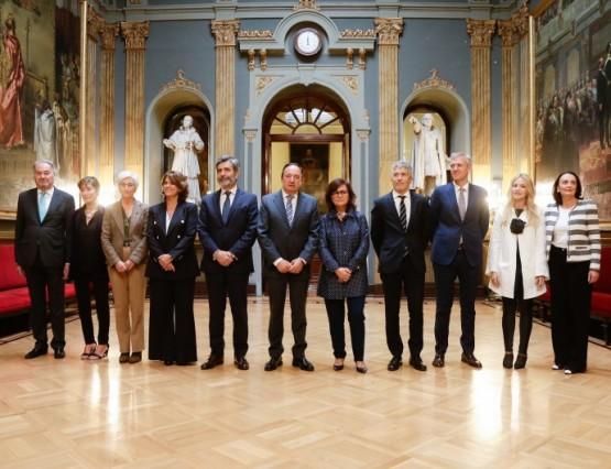 Alfonso Rueda e Susana López Abella asisten ao VII Congreso do Observatorio contra a Violencia Doméstica e de Xénero