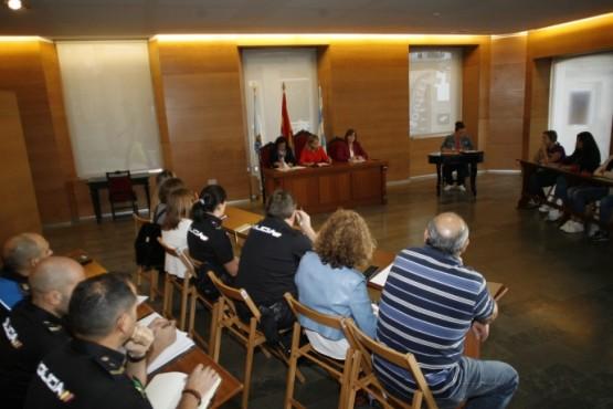 Constitución da mesa local de coordinación contra a violencia de xénero de Viveiro