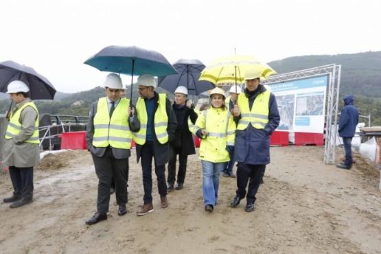 O actual ritmo das obras do 3º treito do desdobramento permitirá adiantar o remate da autovía do Morrazo