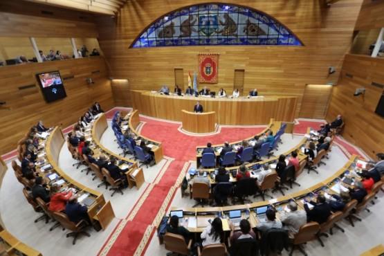 O presidente galego no discurso de apertura do Debate sobre o Estado da Autonomía