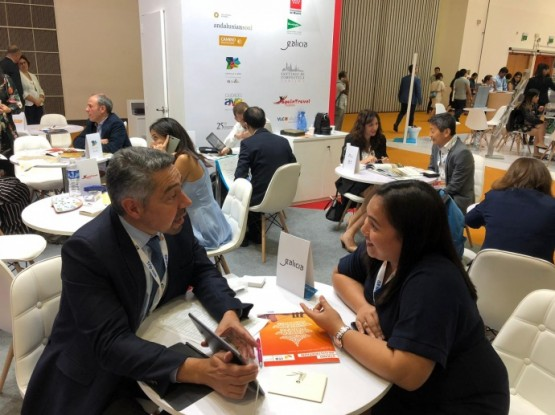 Galicia presenta a súa oferta turística no sudeste asiático na feira ITB