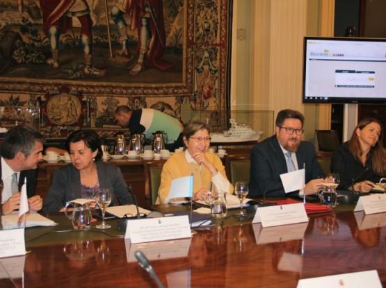 Rosa Quintana no Consello Consultivo de Política Pesqueira de Asuntos Comunitarios