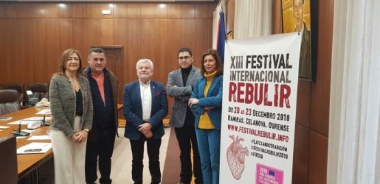 A Xunta apoia o XIII Festival Internacional Rebulir de baile e música tradicional que se celebrará o sábado en Ramirás