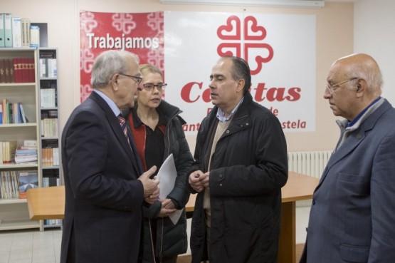 A Xunta renova a súa colaboración con Cáritas co obxectivo de avanzar cara a unha sociedade máis xusta e solidaria