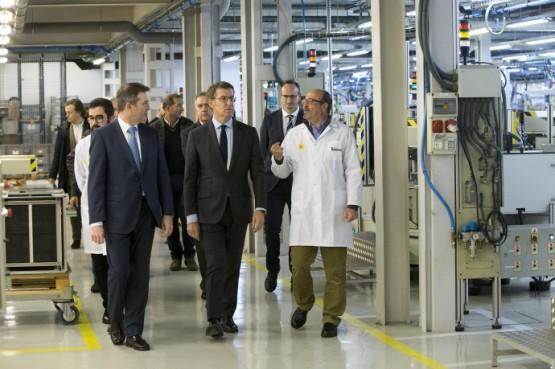 Feijóo aposta por seguir impulsando a innovación no tecido industrial na visita ás instalacións do Centro Tecnolóxico de Televés Corporación