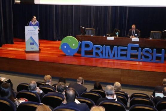 Inauguración da conferencia final do proxecto Primefish